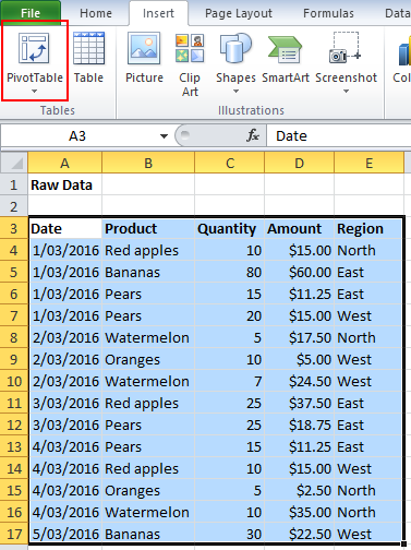 the 7 minute excel pivottable tutorial excel efficiency