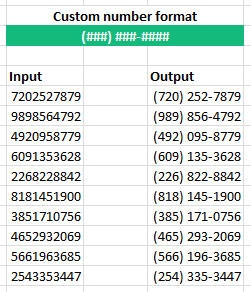 The Comprehensive Guide To Excel Custom Number Formats Excelefficiency