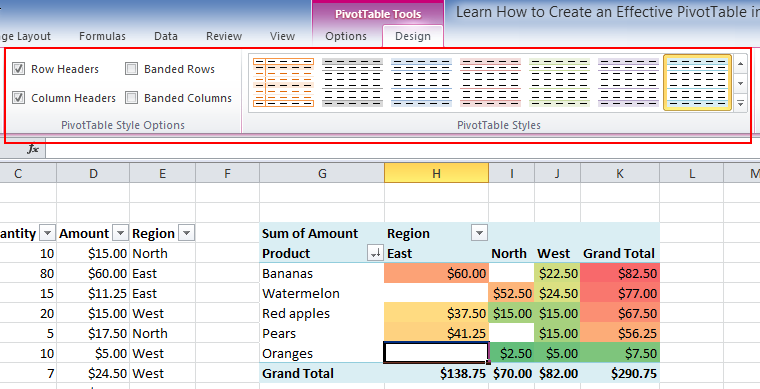 Polish Your Pivottables With These Excellent Tips Excel